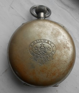 Swiss Made, the Railway Time Keeper pocket watch